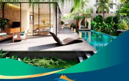 Cơ hội sở hữu biệt thự biển ĐỘC NHẤT sổ hồng vĩnh viễn 100% nội thất 5*