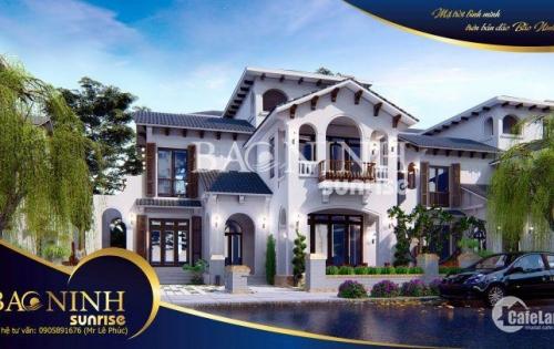 Bán Khu biệt thự nghỉ dưỡng tiêu chuẩn 5 sao Bảo Ninh Sunsire(Giá gôc công ty)