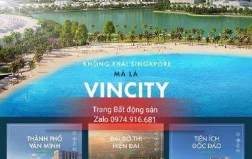 Hãy nhanh tay mua ngay căn hộ tại thành phố mơ ước Vincity Gia Lâm