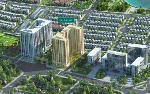 Chỉ với 1,6 tỷ sở hữu ngay căn hộ cao cấp 2 phòng ngủ, diện tích 67m2, view hồ điều hòa tại chung cư Anland Nam Cường.