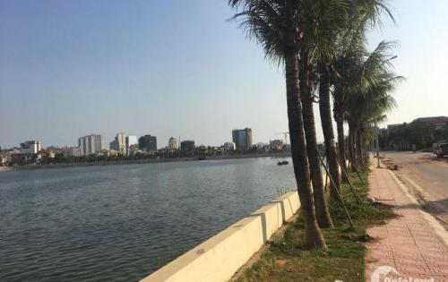 Bán gấp lô đất biệt thự ven hồ tây Hùng Thắng, TP Hạ Long, DT 321m2, MT 11m.