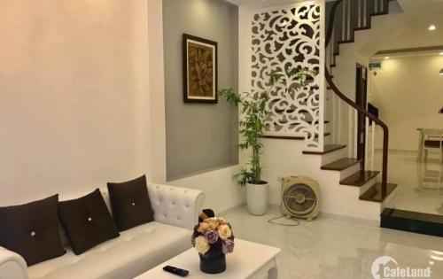 Bán nhà riêng mới đẹp Vĩnh Tuy, 35m x 5 tầng, 2,85 tỷ, lh 0985791415