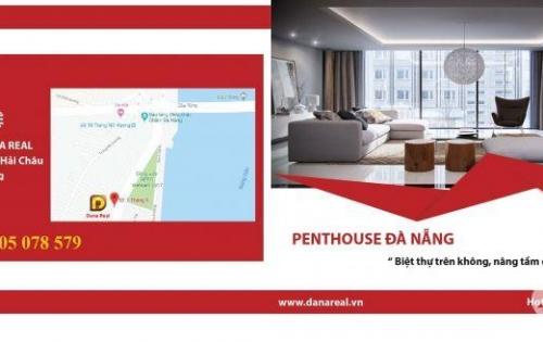 Penthouse tầng cao nhất trung tâm thành phố Đà Nẵng, view sông Hàn, biển Đông, giá hấp dẫn