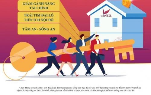 Chung cư Thăng Long Capital giá chỉ 1.08 tỷ căn hộ diện tích 61,7m2 LH 096 382 6655