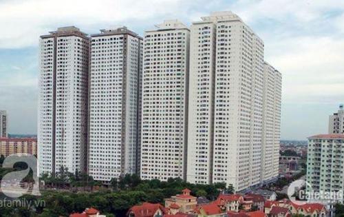 Bán căn hộ chung cư 67m2, 2 phòng ngủ.Giá chỉ 1,08 tỷ tại HH4 Linh Đàm