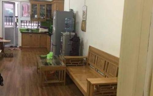Căn hộ 58m2, 2 phòng ngủ, Full nội thất ở tầng trung tại chung cư HH4B Linh đàm, Hoàng mai.