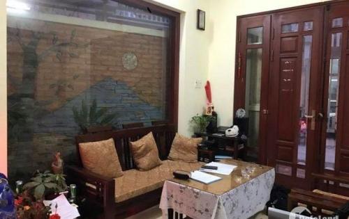 Bán nhà riêng, ô tô đỗ cửa, kinh doanh sầm uất phố Trương Định, 36m*5 tầng, MT 4.1m, 4.5 tỷ.