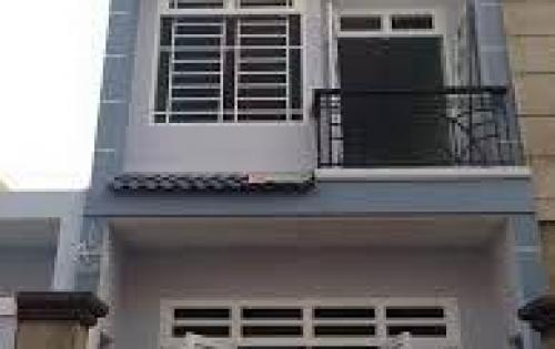 Nhà 1 trệt, 2 lầu, 5x18, giá 2,8 tỷ, gần chợ Hóc Môn.