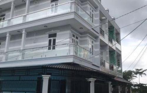 Bán nhà kiểu Villa tại Huỳnh Tấn Phát, Phú Xuân Nhà Bè, góc 2 mặt tiền, DT 84m2, 2 lầu đúc. sân thượng trước sau, giá 4.8 tỷ