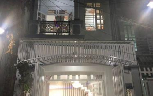 Bán nhà hẻm 2295 đường Huỳnh Tấn Phát, Nhà Bè, DT 129m2, 1 trệt 1 lầu, tặng nội thất, giá 3.25 tỷ