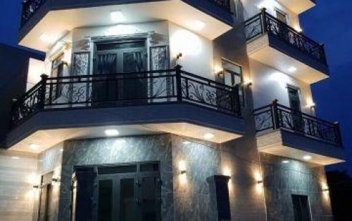 Bán nhà góc 2 mặt tiền KDC Sài Gòn Mới đường Huỳnh Tấn Phát, Thị Trấn Nhà Bè, 3 lầu đúc, giá 4.1 tỷ