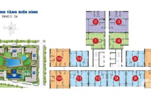 Sunrise Riverside 70m2 G5 tầng cao giá gốc 2,306 tỷ bán lỗ 20tr view nội khu LH: 0932 498 773