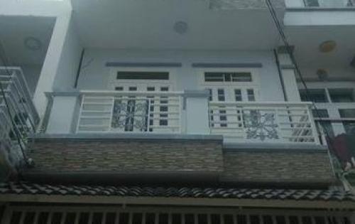 Bán nhà đường Nguyễn Bình, Thị trấn Nhà Bè, Tp.HCM. DT 3,3 x 7m, 2 lầu, tặng nội thất, giá 1.62 tỷ