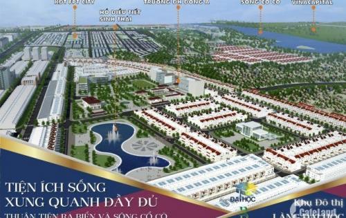 Nhận đặt chỗ dự án mới liền kề KDT FPT Đà Nẵng, Lh 0905850320