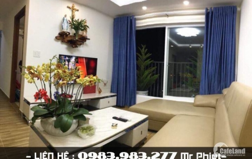 Bán căn hộ góc chung cư VCN Phước Hải Nha Trang nhìn đường Cao Bá Quát