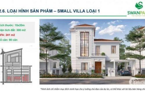 Shophouse Villas Swanpark Giai Đoạn 2- Thanh Toán 50% trong 2 năm- hotline CDT 0939736359