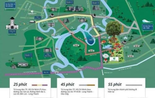 Thành phố hiện đại, môi trường xanh, thiết kế phong cách PHÁP đầu tiên tại VIỆT NAM.