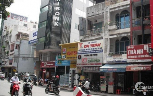 Nhà mặt tiền Calmette, P. Nguyễn Thái Bình, Q.1, DT: 4.2x22m, 4 tầng