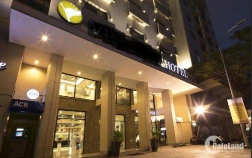 Bán khách sạn mặt tiền đường Thủ Khoa Huân, p Bến Thành, Q1. DT: 12x24m 1H, 9 tầng giá 255 tỷ