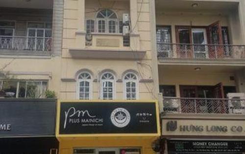 Nhà mặt tiền Đường Ký con, P. Nguyễn Thái Bình Q.1, DT: 4.2x27m, xây 3 lầu, giá: 45 tỷ