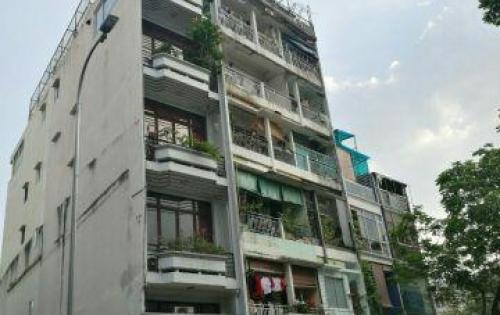 Chính chủ bán gấp nhà 2 mặt tiền Đặng Dung, Tân Định, Quận 1; 8x18m,hầm 5 lầu,Giá chỉ 45 tỷ