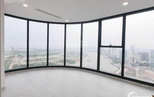 Bán căn hộ Vinhomes Ba Son, View trực diện sông Sài Gòn, 4PN-157m2, giá 15,5 tỷ.