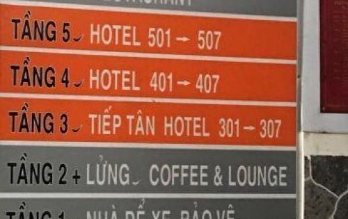 Bán Khách Sạn Nguyễn Ảnh Thủ, 200m2, 7 tầng, Quận 12, Giá 17 tỷ