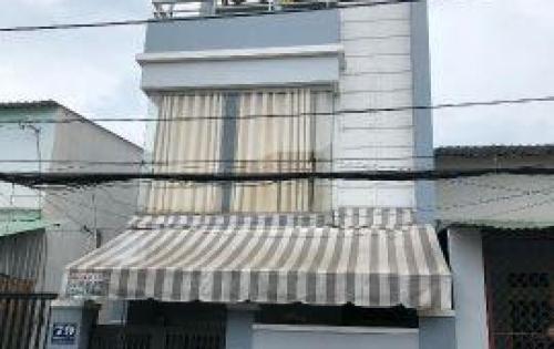 Bán nhà 2 lầu 40m2 mặt tiền thạnh xuân, q12