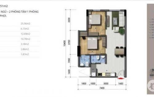Cơ hội cuối mua căn hộ Green Mark quận 12 đợt 1 giá rẻ chỉ từ 20tr/m2 Lh 0938677909