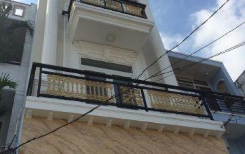 Bán nhà 1 trệt 2 lầu 4x16m  giá 4.65 tỷ,  HXH đường  Lê Thị Riêng , P. TA, Q12.
