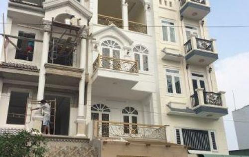 Bán nhà 1 trệt 1 lững 3 lầu 4.2x18m giá 6 tỷ,  Đường nhựa 10m Nguyễn Anh Thủ , P. TCH, Q12.
