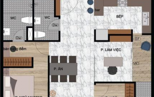 Chính chủ bán lỗ căn 2PN Căn hộ quận 2, 66m2 , tầng cao. cbi nhận nhà . LH 0902958994