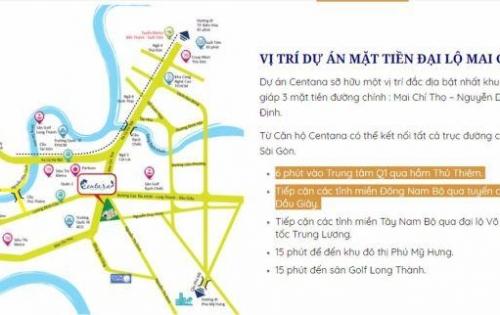 Chính chủ bán căn hộ quận 2, MT Mai Chí Thọ, 3pn -88m2. cbi nhận nhà