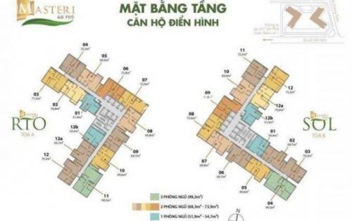 Bán căn 2pn Masteri An Phú, mặt tiền Xa Lộ Hà Nội, Thảo Điền, Quận 2.