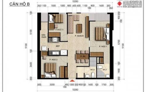 Bán căn hộ centana Thủ Thiêm, 1-3PN, vị trí đẹp, đủ các tầng chỉ từ 1,65 tỷ có VAT/ căn, 12/2018 nhận nhà