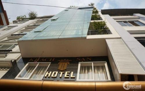 Chính chủ cần bán khách sạn đường Cao Thắng, phường 5, Quận 3, DT: 8x14m, trệt, 5 lầu, có thang máy cao cấp, sang trọng.