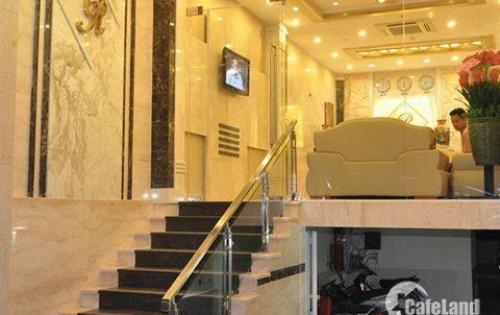 Chính chủ cần bán khách sạn đường Võ Văn Tần, phường 5, Quận 3, DT: 8x14m, trệt, 5 lầu, có thang máy cao cấp, sang trọng.