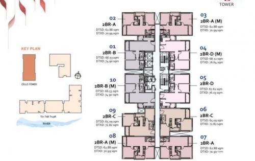 HOT HOT HOT…Booking giữ chỗ 100  căn hộ DELASOL quận 4 , 2PN--giá chỉ từ 65tr/m2….chiết khấu 10%..LH gấp: 0933 115 089