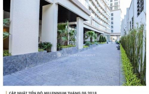 Mở bán văn phòng office hạng a, trên đường bến vân đồn và nguyễn hữu hào, thanh toán 97% chiết khấu 10% tại dự án millennium. lh pkd: 0901868915