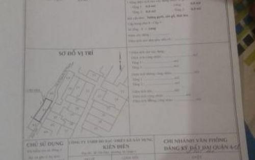 Bán Nhà Riêng Nguyễn Tất Thành, P13, Q4. Hcm