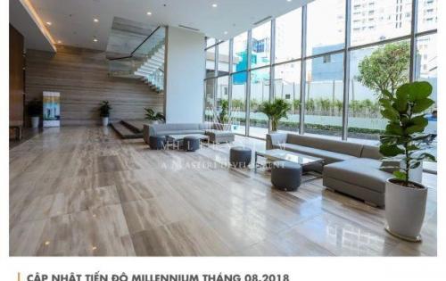 Mở bán văn phòng office hạng a, cạnh phố wall q1, thanh toán 97% nhận ngay chiết khấu 10% ,ngay tại dự án millennium. lh pkd: 0901868915