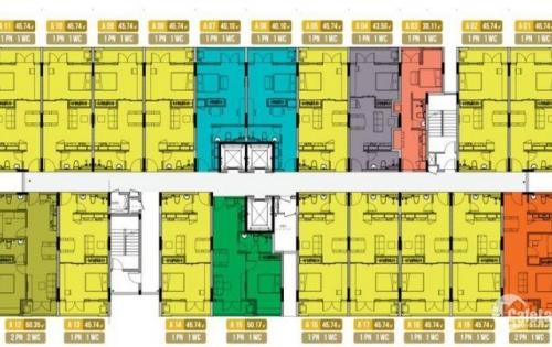 Bán căn hộ xã hội giá rẻ gần bến xe Miền Tây, giá chỉ 760 triệu/căn. LH 0935365384