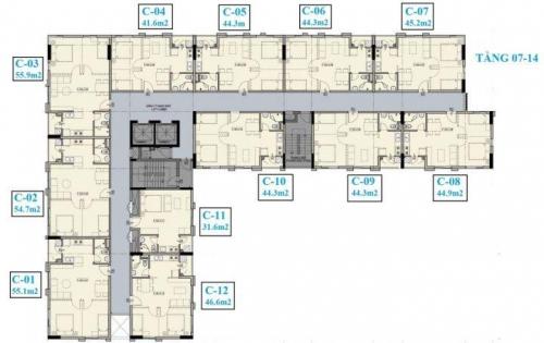 Cần sang nhượng căn hộ Luxcity officetel, căn góc view cực đẹp, liên hệ ngay 0902505902.