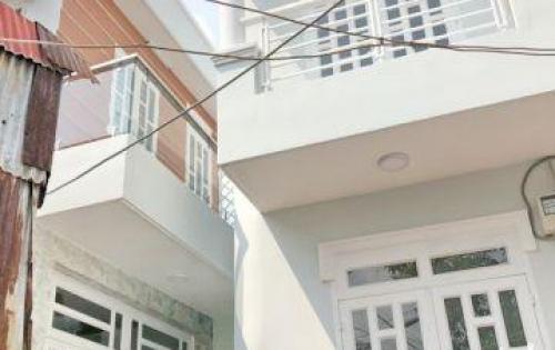 Bán nhà lầu mới 100% hẻm 1172 Huỳnh Tấn Phát quận 7.