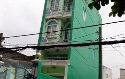 Bán gấp nhà 3 lầu mặt tiền hẻm xe hơi phường Tân Phú Quận 7.