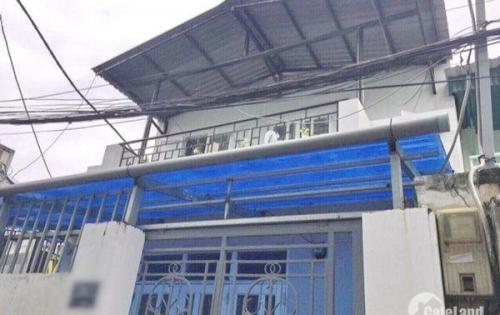 Bán nhà lầu hẻm 1234 Huỳnh Tấn Phát quận 7 (1 xẹt).