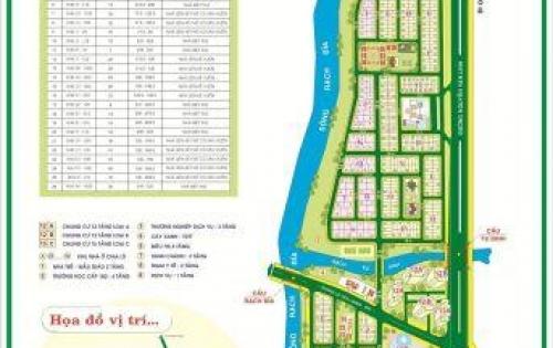 Bán Nhà Nguyễn Văn Linh KDC Ven Sông Quận 7 : DT 5x18 Trệt 3 Lầu