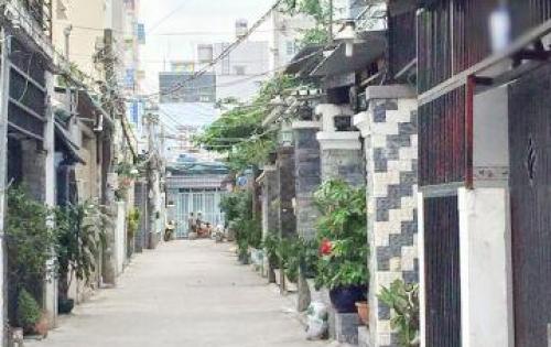 Bán nhà nát hẻm xe hơi 1135 Huỳnh Tấn Phát quận 7.