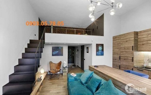 Không tìm đâu ra căn hộ độ cao Trần 4.5m.Kết hợp tầng lửng-gia tăng diện tích