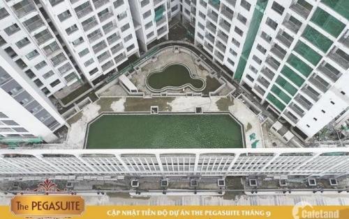 Chỉ từ 27tr/m2 sở hữu ngay căn hộ The Pegasuite quận 8.mặt tiền đường tạ quang bửu.
